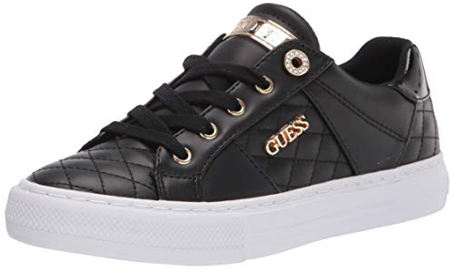 Guess Damen GWLOVEN Sneaker, schwarz, 38 EU