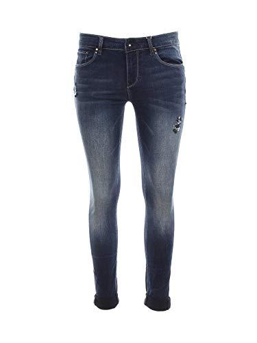 Fracomina FR19FPJTINA1 Jeans Frauen Blau 34