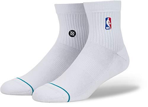 Stance NBA Logoman Quarter Socke, Socken:38/39-42