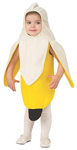 Rubie's unisex baby Opus Collection Lil Cuties Banana Infant and Toddler Costumes, As Shown, Infant US