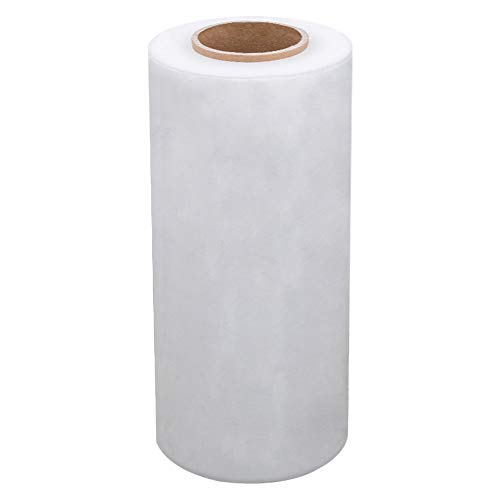 Perfectape Brand Transparent Stretch Wrap Film, 14' x 1500feet, 80 Gauge, Product Weight: 3.3kgs, 1-Pack, for Wrapping,