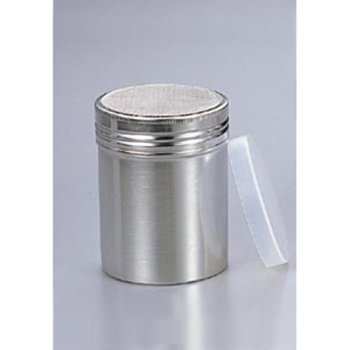 18-8 パウダー缶(アクリル蓋付)ロング φ55×115