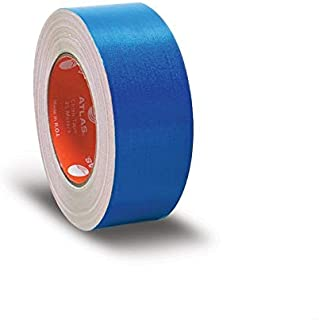 اطلس شريط لاصق قماشي، 50 ملم - ازرق