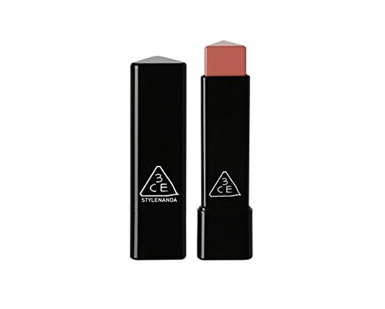 単独で銀行うなる3CE スロージャム三角形口紅 3 Concept Eyes Style Nanda Glow Jam Stick Triangle Lipstick (正品?海外直送品) (Longing)
