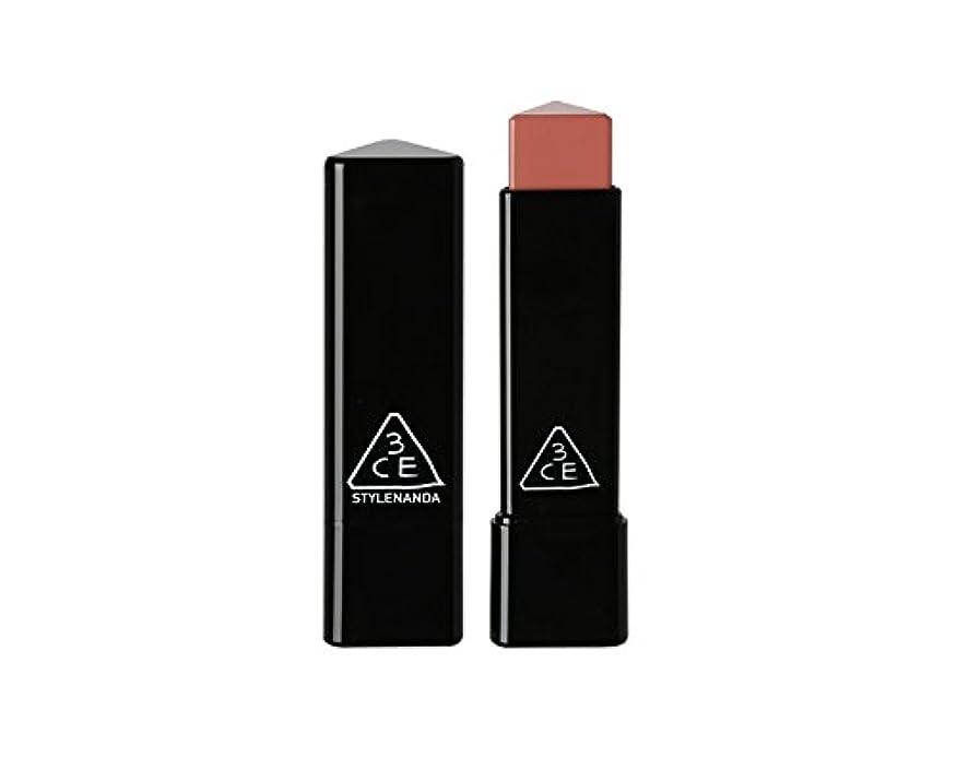 墓ソーシャル押す3CE スロージャム三角形口紅 3 Concept Eyes Style Nanda Glow Jam Stick Triangle Lipstick (正品?海外直送品) (Longing)