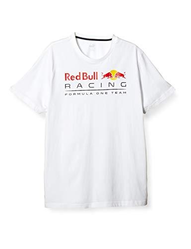 PUMA RBR Logo tee Camiseta, Hombre, Negro, XL