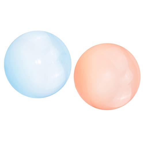 lahomia - 2 Piezas de Globo de Bola de Burbujas Suave para Familias, Divertido Juego de Boda para Niños, Juguete