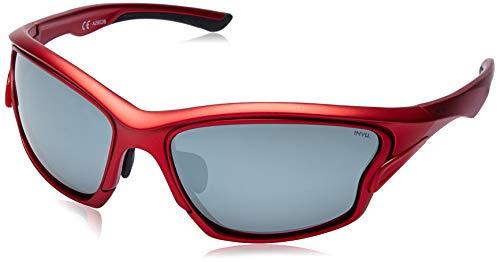 INVU Gafas de sol 2902 B Matt Red Lentes intercambiables polarizadas