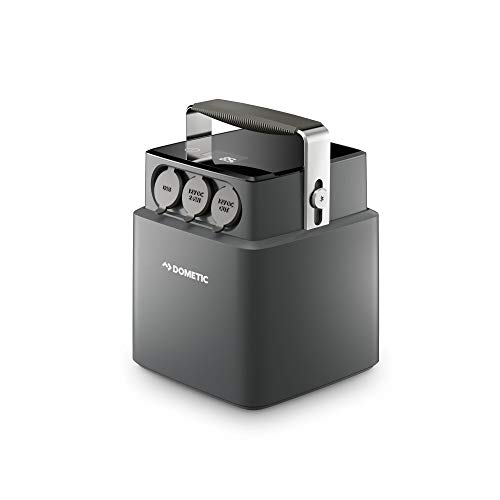 DOMETIC Tragbare Lithiumbatterie, 40 AH Black