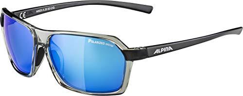 ALPINA FINETY P Sportbrille, Unisex– Erwachsene, transparent-grey, one size