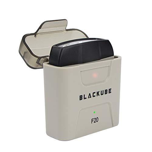 BLACKUBE 充電式 キャップライト 明るい ledオフホワイト クリップライト IPX5防水 帽子クリップ 充電器充電式 釣り ジョギング 散歩用