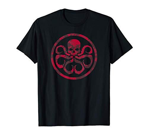 Marvel Hail Hydra Camo Print Camiseta