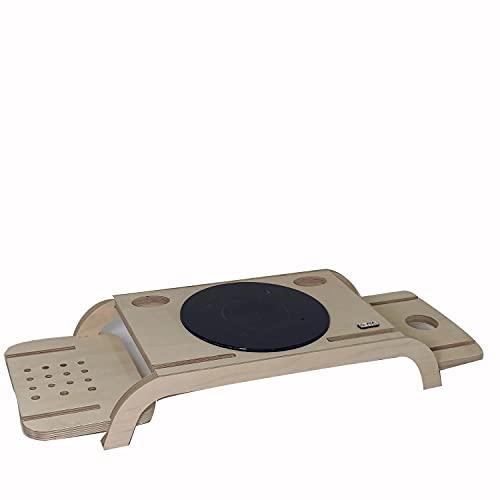 Monitor Soporte Madera Estante de para escritorio Elevador dos pisos cajones Ajustables Organizador escritorio ordenador portátil impresora Impresora Monitor TV Computadoras el Hogar la Oficina