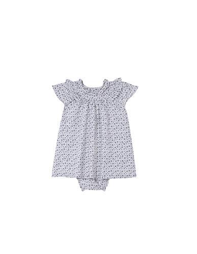 Gocco Vestido Volantes Estampado Flores Dress, Crudo, 44086 para Bebés