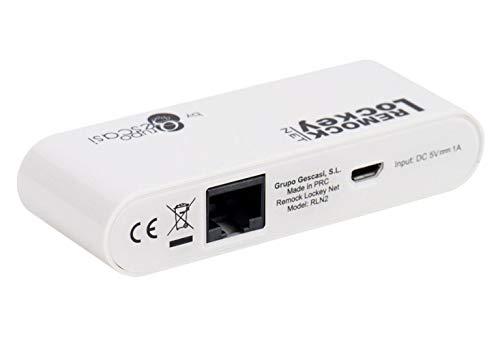 Remock Lockey Net - Kit de conexión móvil para las Cerraduras Invisibles Remock Lockey...