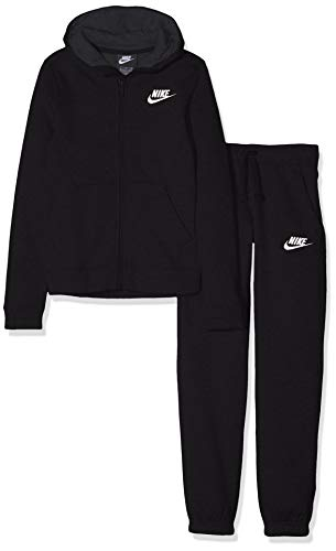 Nike B NSW TRK BF Core, Tuta Bambino, Nero (Nero/Antracite/Bianco), L