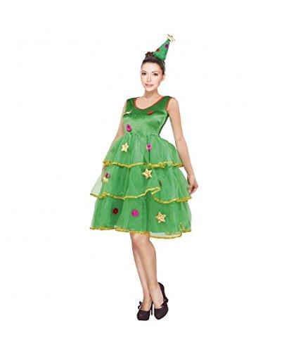 Disfraz Árbol de Navidad para mujer (M)