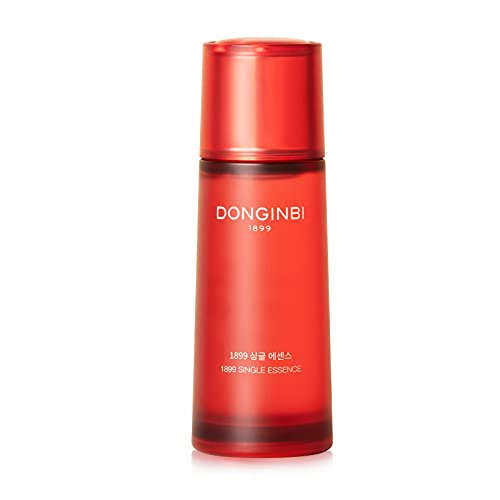 Korean Face Essence DONGINBI 1899 Single Essence Water Face Serum - Anti-Aging face essence with Korean Red Ginseng for Radiance and Repair -2.02 Oz (70ml)
