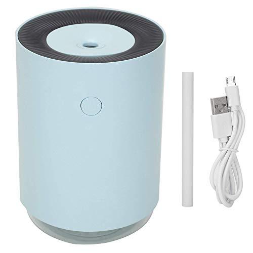 BaiHogi Mini humidificador Compacto, humidificadores de Aire, Verano o Dormitorio de Invierno para hogar, Coche, Oficina de Viajes, Escritorio (Color : Blue)