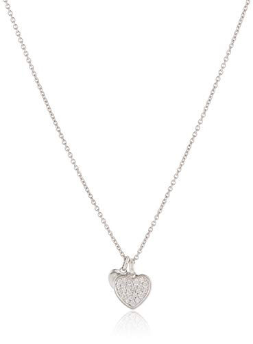 FossilDamen Halskette Sterling Heart