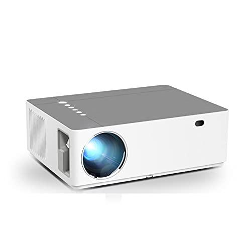 KFJZGZZ Proyector Full HD 1920x1080p 4k Proyector de Cine en casa LED 3D 20-300 Pulgadas Ajustable