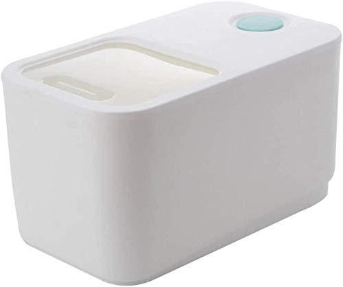 MUPL Caja de Almacenamiento de Alimentos sellada dispensador de Grano de Cubo de arroz de 10 kg usada para Granos de Cereales