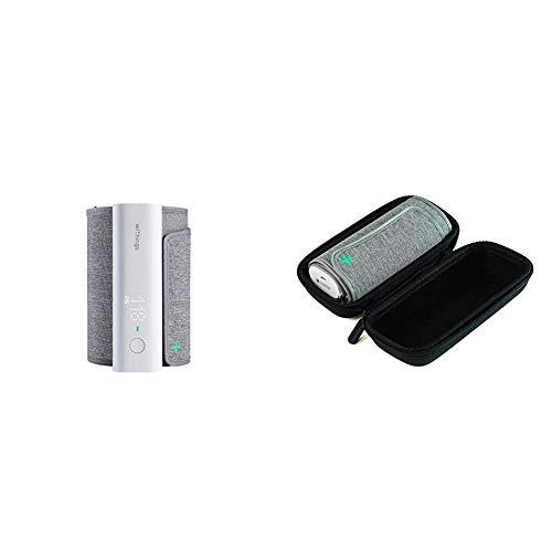 Pack: dispositivo BPM Connect de Withings + funda de viaje: tensiómetro compatible con la aplicación Health Mate mediante conexión wifi y Bluetooth