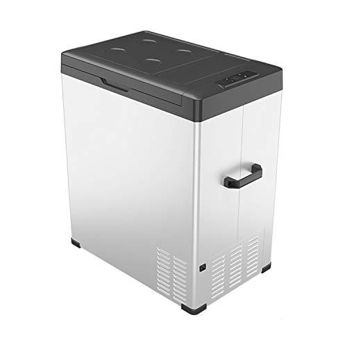 KLFD Refrigerador Portátil para Automóvil, Congelador Doméstico de 75 L, Compresor de 12 V / 24 V, Enfriamiento Rápido de 20 ° a -20 °, Antivibración