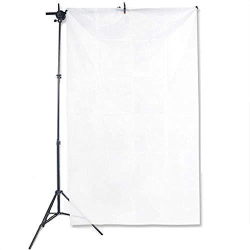 Selens 1x1,7M Diffusor Stoff Nylon Seide Weiß Diffusion Nahtloser Lichtmodifikator für Fotografie Beleuchtung, Softbox und Lichtzelte