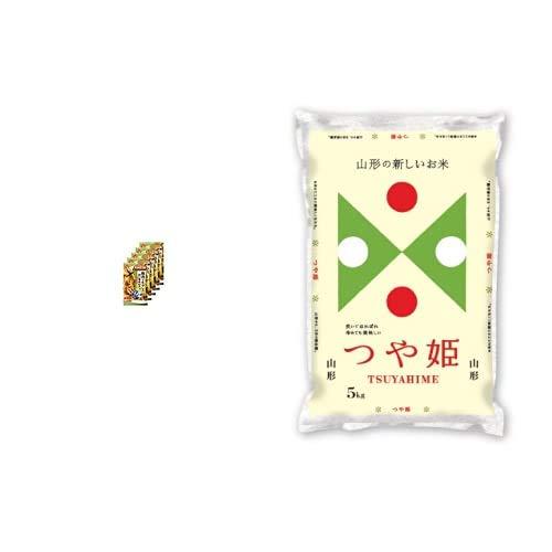 味の素 CookDo 豚肉ともやしの香味炒め用2人前×5個 +  【精米】山形県産 白米 つや姫 5kg 令和元年産