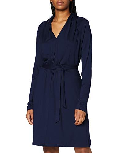 ESPRIT Damen 090EE1E309 Kleid, 400/NAVY, XL