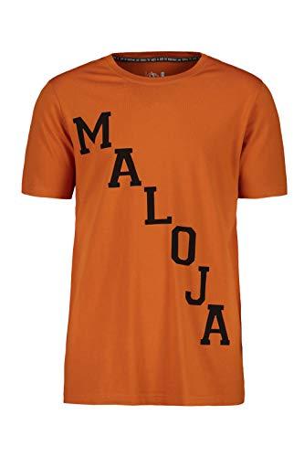 Maloja Herren 27520 T-Shirt, Orange (Firelily 8218), X-Large