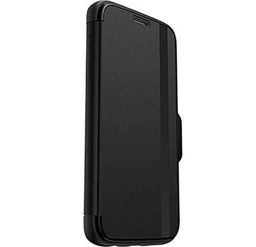 OtterBox Symmetry Etui Sturzsichere Flip Schutzhülle (mit Standfunktion, geeignet für Samsung Galaxy S7) schwarz