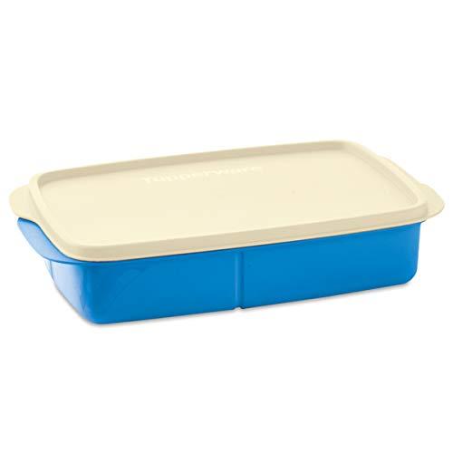 Contenedor para guardar y transportar alimentos, Eco Lunch Rectangular con Divisiones, Tupperware