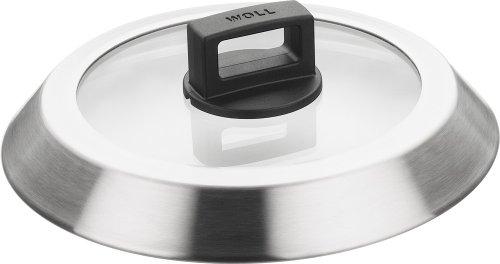 Woll Glass & S/Steel Lid 20115 - Tapa para ollas, Color Plateado