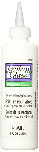 Gallery Glass Window Color (8 Ounce), 16081 Crystal Clear