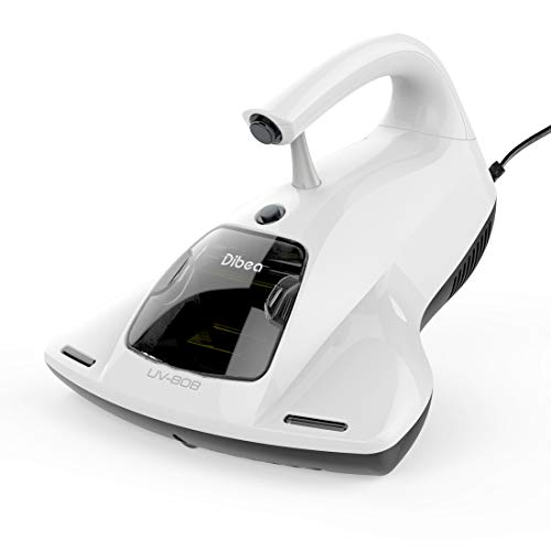 Dibea 布団クリーナー 15KPa超吸引 マットレスクリーナー 布団掃除機 ダニ吸引 UVランプ