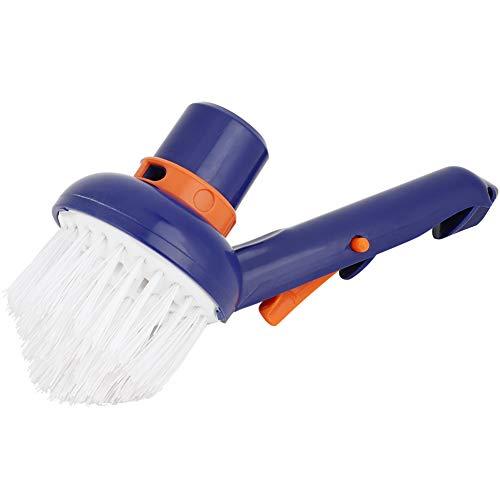 CUTULAMO Cepillos De Limpieza, Cepillo De Vacío para Piscina Práctico, Resistente Y Duradero para Piscinas para Esquinas Limpias