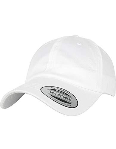Flexfit Low Profile Organic Cotton Cap White, one Size