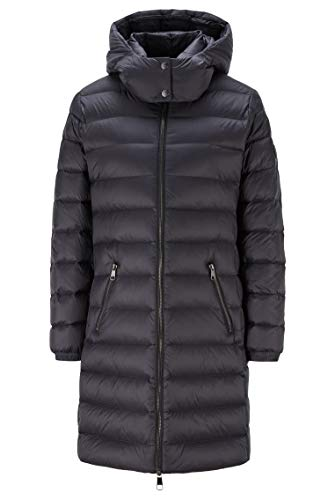 BOSS Damen C Pampana Verstaubarer Mantel aus wasserabweisendem Gewebe mit Langer Passform