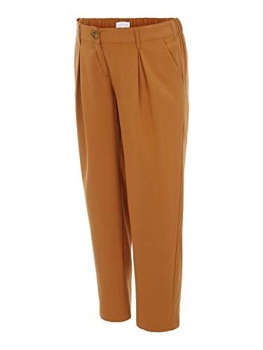 Mamalicious MLHIRA Woven Slouchy Pants A. Pantaloni Eleganti da Uomo, Meerkat, M Donna