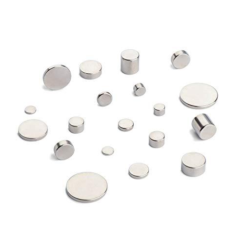 Neodym Scheibenmagnet | Ø 2 x 1 mm | Haftkraft 0,8N (≈ 0,08 kg) | VPE 20 Stück | thyssenkrupp