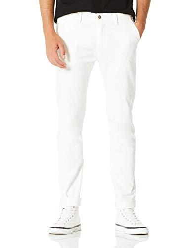 Demon&Hunter 910X Skinny Serie Hombre Pantalones Estrechos Casual Chino DH9111(29)