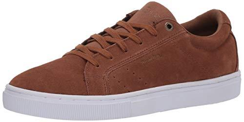Emerica Herren Americana Skate Schuh, Braun (Tan/Weiß), 42.5 EU