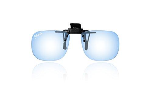 Shadez Clip on filtre lumière bleue pour lunettes 3-7 ans