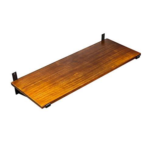 Zwevende planken, hangrek, scheidingswand van grenenhout, boekenplank aan de muur bevestigd, de muur van de achtergronddecoratie, geschikt voor de woonkamer/keuken/toilet 60x30x3cm