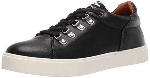 Dirty Laundry by Chinese Laundry Women's ELLE Sneaker, Black Smooth, 6.5 M US