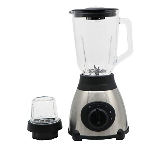 Smoothie Blender, Food Prep Personal Blender with Mini Food Processor and Spice Grinder Rechargeable Portable Electric Juicer Cup Used in Fruit Shakes Vegetables and Beans