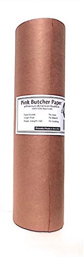 "Pink Butcher Kraft Paper Roll – 18"" x 175' 