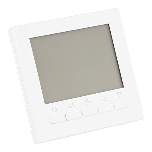 Termostato wifi, 86 x 86 x 43 mm, programable, CA 200-240 V, 50/60 Hz, película de calefacción eléctrica para válvula solenoide motorizada para calefacción de válvula esférica